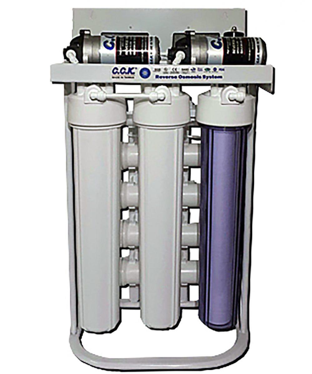 دستگاه تصفیه آب نیمه صنعتی 400گالن RO400GP36s (d)
