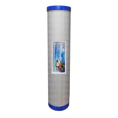 فیلتر 20اینچ کربن پودری گیاهی جامبوF20-UDF-GP