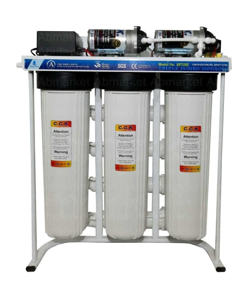 2دستگاه تصفیه آب نیمه صنعتی 400گالن RO400GP36j